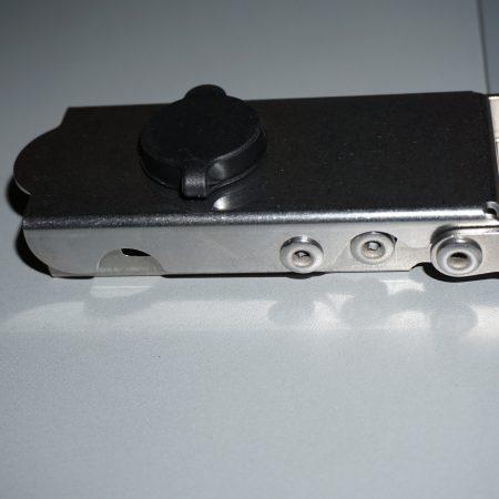 Scharnier mit Schloss patentiertes Schließsystem mit Magnet - MyTech Koffer