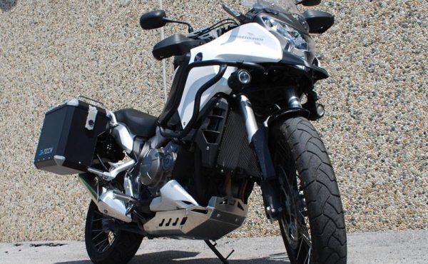 Honda Crosstourer Motorschutzplatte natur Mytech Moko