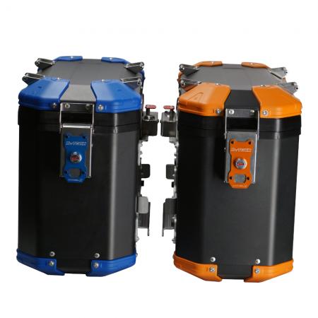 MyTech Model X Kofferset Blau orange Moko Shop
