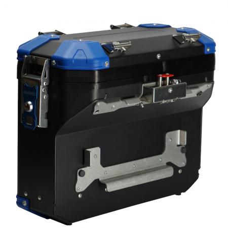 MyTech Model X Kofferset Blau orange Moko Shop 32L side