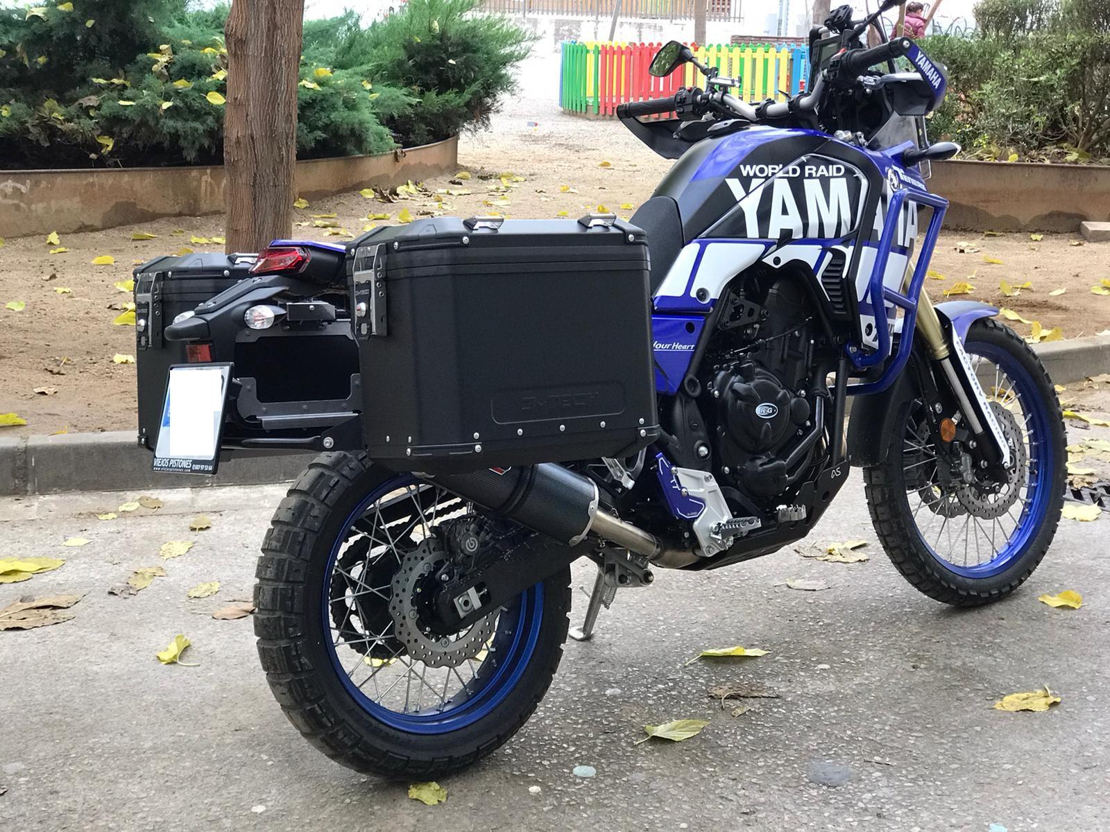 Yamaha Tenere 700 Seitenkoffer MyTech Model X schwarz 1